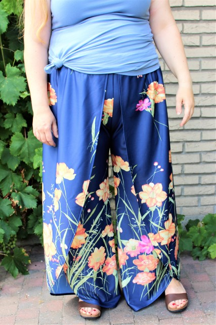 Ravanna Pants Designer Stitch patterns