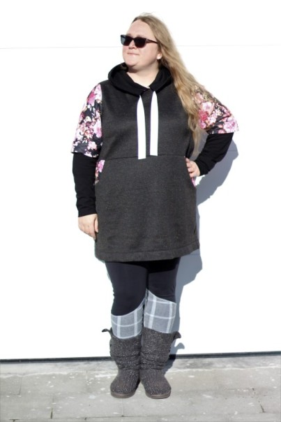 Alexis Hoodie Dress Sinclair Patterns