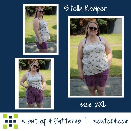 5oo4 Stella Romper size 2XL