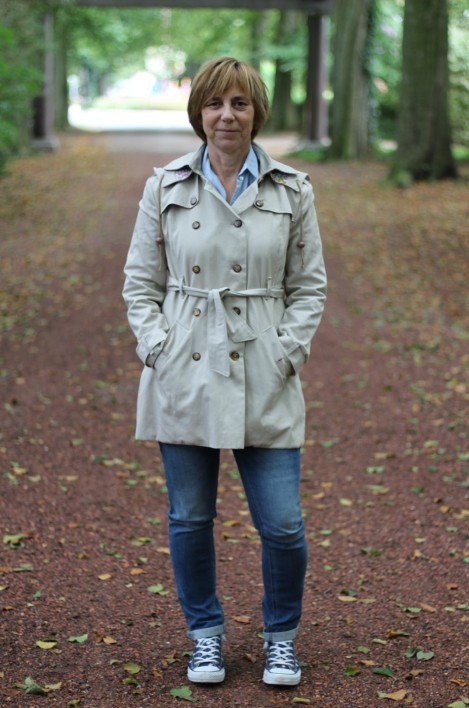 Taylor Trench Coat Rebecca Page