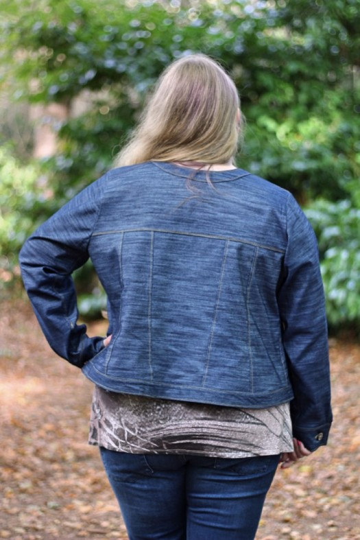 Fashionista Jean Jacket Winter Wear Designs