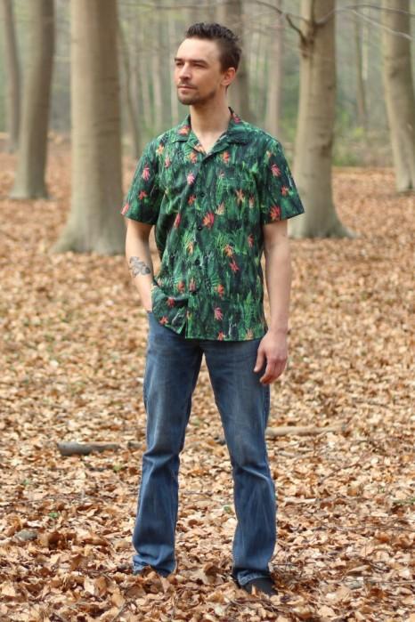 Tropical Shirt wardrobe By Me