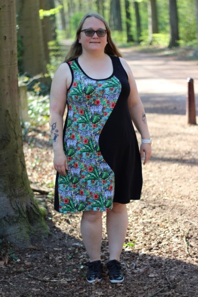 Fifty/Fifty Dress Made By Runi