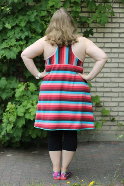 Tank top / tunic with a twist Made by Runi