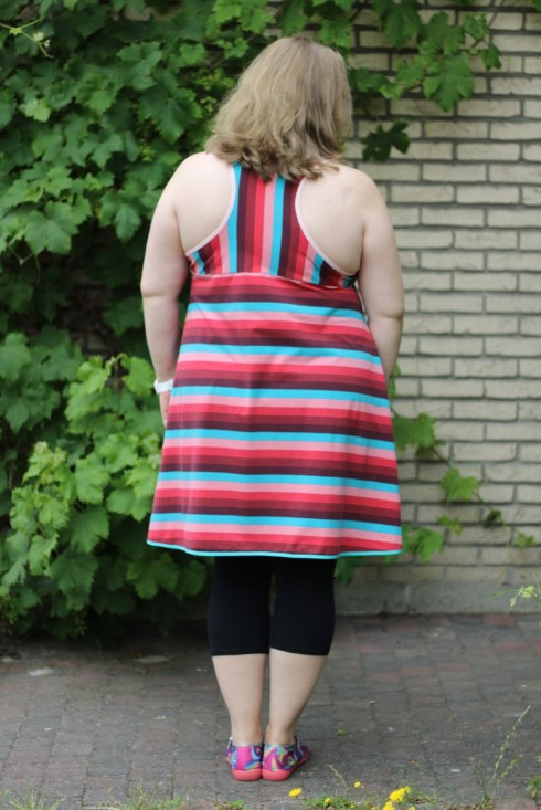 tank top/tunic with a twist